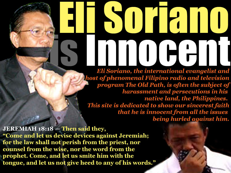 The Official Website of Bro. Eli Soriano