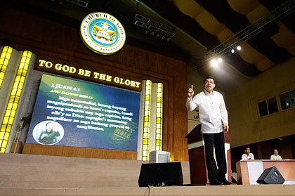 the old path ang dating daan Ang dating daan (tagalog for the old path)  ang tamang daan (the true path) answering soriano's allegations on the show in june 2005,.